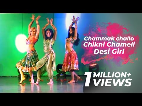 Ridy - Chammak challo  Chikni Chameli Desi Girl