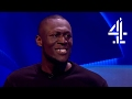 Stormzy on Adele Breaking her Grammy in Half for Beyonce   The Last Leg -