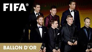 FIFA/FIFPRO World XI Team 2014
