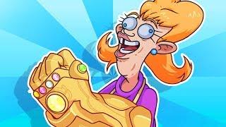 YO MAMA SO STUPID! Thanos Snap - Avengers: Infinity War