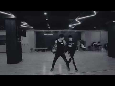 Good kisser -Usher  - HOYA &Hyojin  INFINITE CONCERT practice video