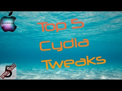 Top 5 Cydia Tweaks/Apps iOS 5.1.1 [HD][Deutsch] #02