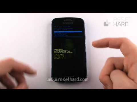Hard Reset Galaxy Trend How-To - Hard Reset S7560