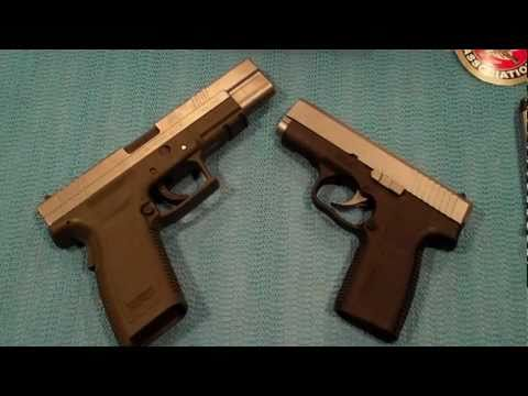 Springfield XD 45 vs Kahr CW 45 - TheFireArmGuy