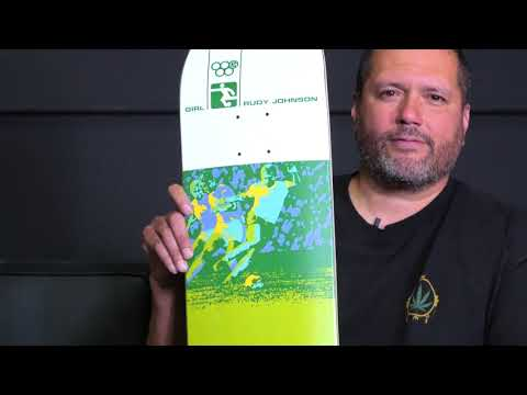 Rudy Johnson Olympic Re-Issue | Girl Skateboards