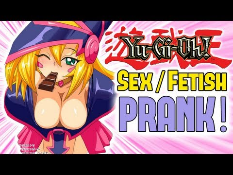 Yu-gi-oh Sex fetish Prank video