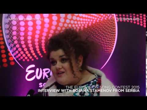 Eurovision 2015: Interview with Bojana Stamenov from Serbia