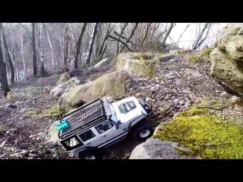 Axial Wraith & Jeep Wrangler On Track#1 Piesberg Osnabrück