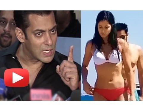 Salman Khan Abuses A Reporter Over Katrina Kaif