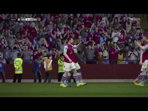 Fifa 15 Aston Villa Joe Cole shot :)