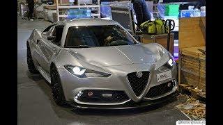 Alfa Romeo 4C Mole Costruzione Artigianale 001 - Geneva Motor Show 2019