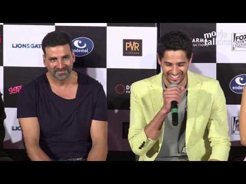 Brothers Trailer 2015  | Akshay Kumar,  Jacqueline Fernandez,  Sidharth Malhotra | Launch Event