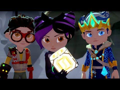 Герои Энвелла -  Руины - серия 22 - современные российские мультфильмы для детей