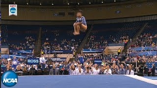 Kyla Ross crushes floor routine in 2019 NCAA gymnastics semifinal
