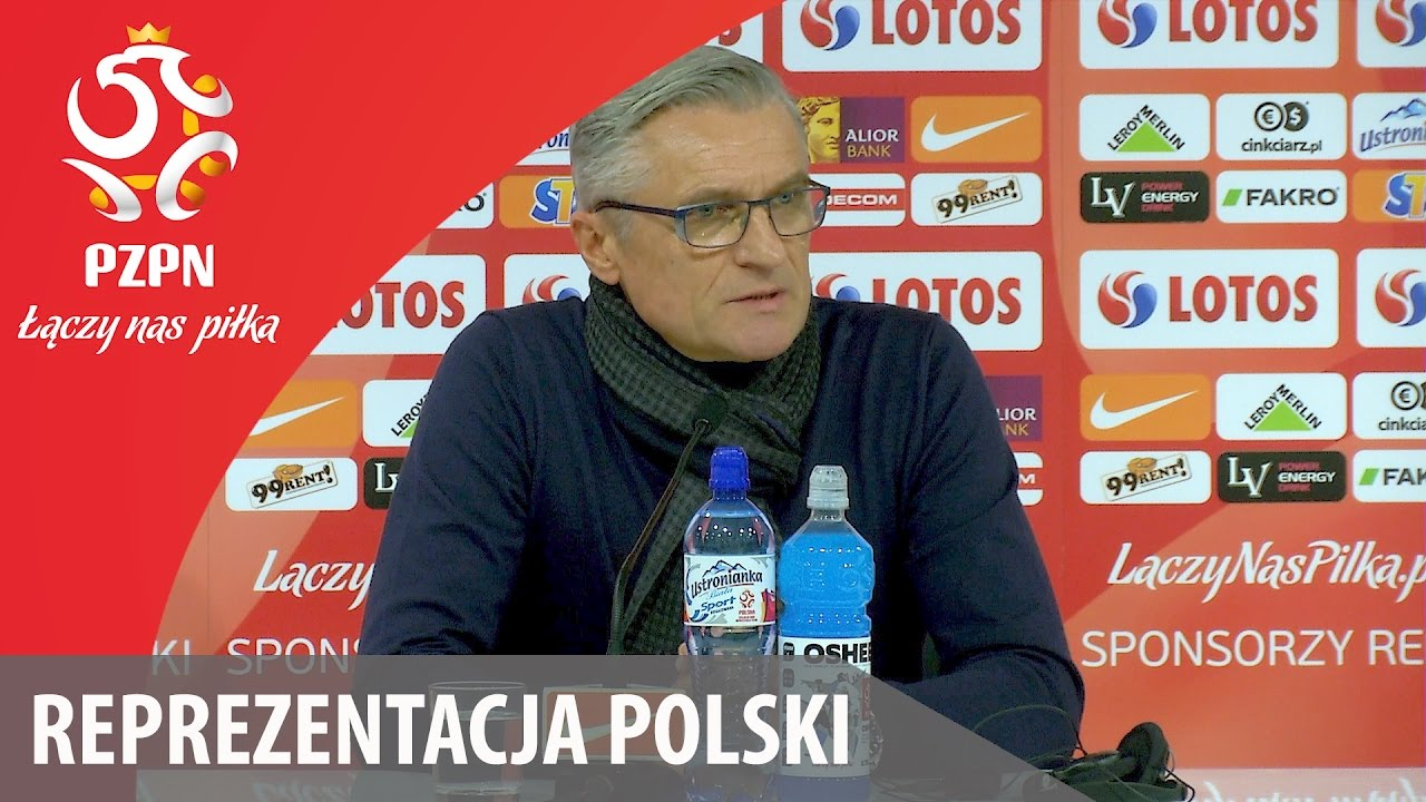 Konferencja po meczu ze Słowenią (Wrocław, 14.11.2016)