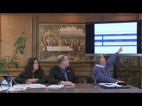 Conférence de presse sur les résultats du recensement 2011 - 24 octobre 2012