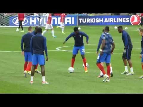 Antoine Griezmann ● André-Pierre Gignac ● France vs Albanie 2016