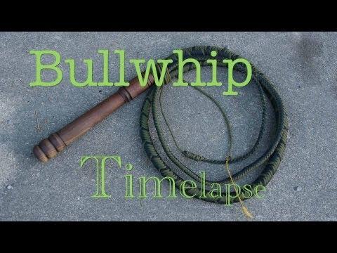 8 ft. Paracord Bullwhip ( TimeLapse )