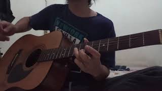 Aku Tak Pantas UntukMu - D'pas4 ( cover gitar melodi )  versi Akustik