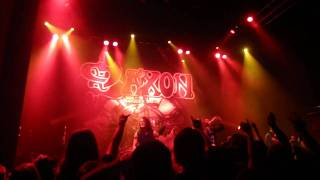 Watch Saxon Man And Machine video