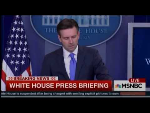 Josh Earnest Says Ben Carson's China-Syria Claims Leave Him 'Speachless'