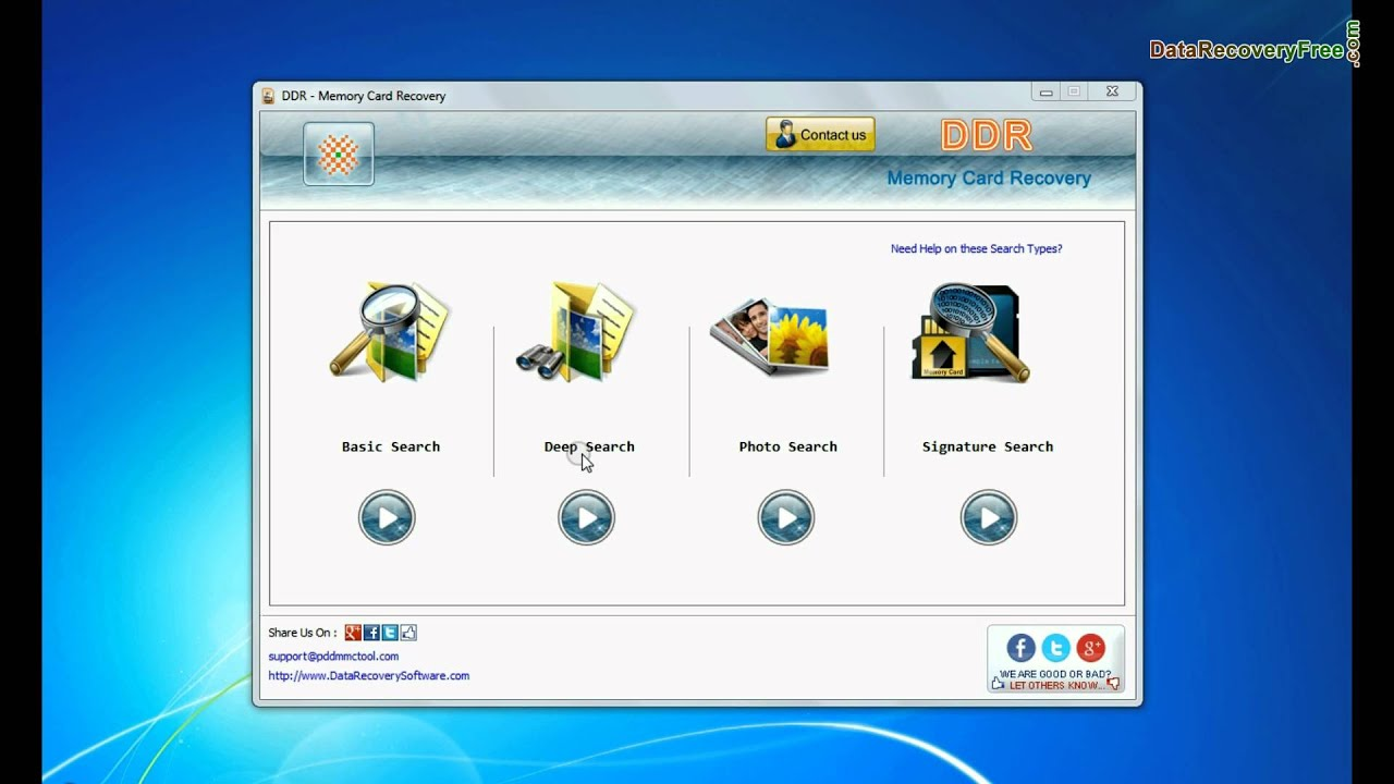 FREE Memory Card Recovery Software to Recover Deleted Data Sd photo recovery freeware