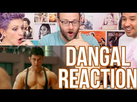 DANGAL - MOVIE TRAILER - REACTION!!! thumbnail