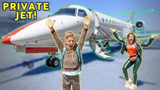 FLYING On A PRIVATE JET! *Dream Come True* | The Royalty Family