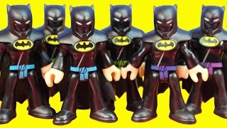 Imaginext Replica Batman Ninjas \u0026 Joker Bane Try Destroy Gotham City Batman Saves Day Just4fun290