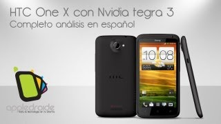 HTC one X el poderoso equipo de 4 ncleos y pantalla super lcd 2 HD