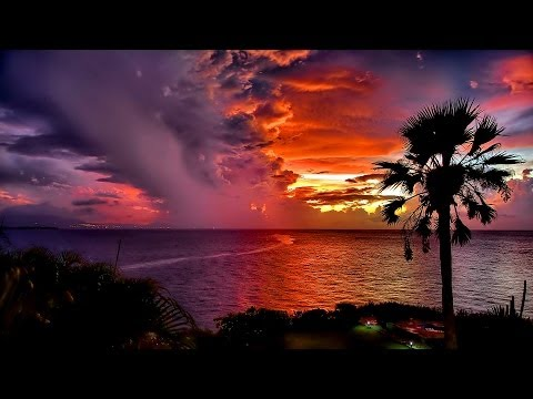 Clouds, Sunsets & Stars - Time Lapse Video Hd 1080p With Relaxing Music video