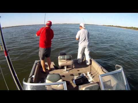Fish Lake Lewisville Monday September 10, 2012 with PittState GasPasser and Bon