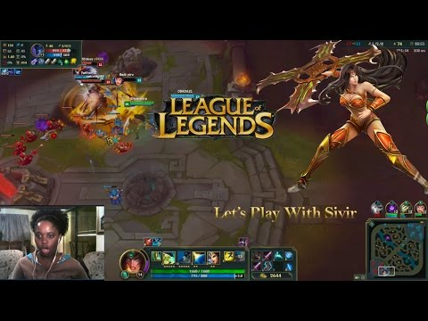 Shyamoire Plays League Of Legends | Hello Sivir| South Africa