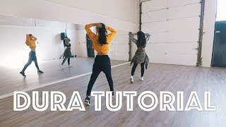 """DURA"" DANCE TUTORIAL - STEF WILLIAMS CHOREOGRAPHY"