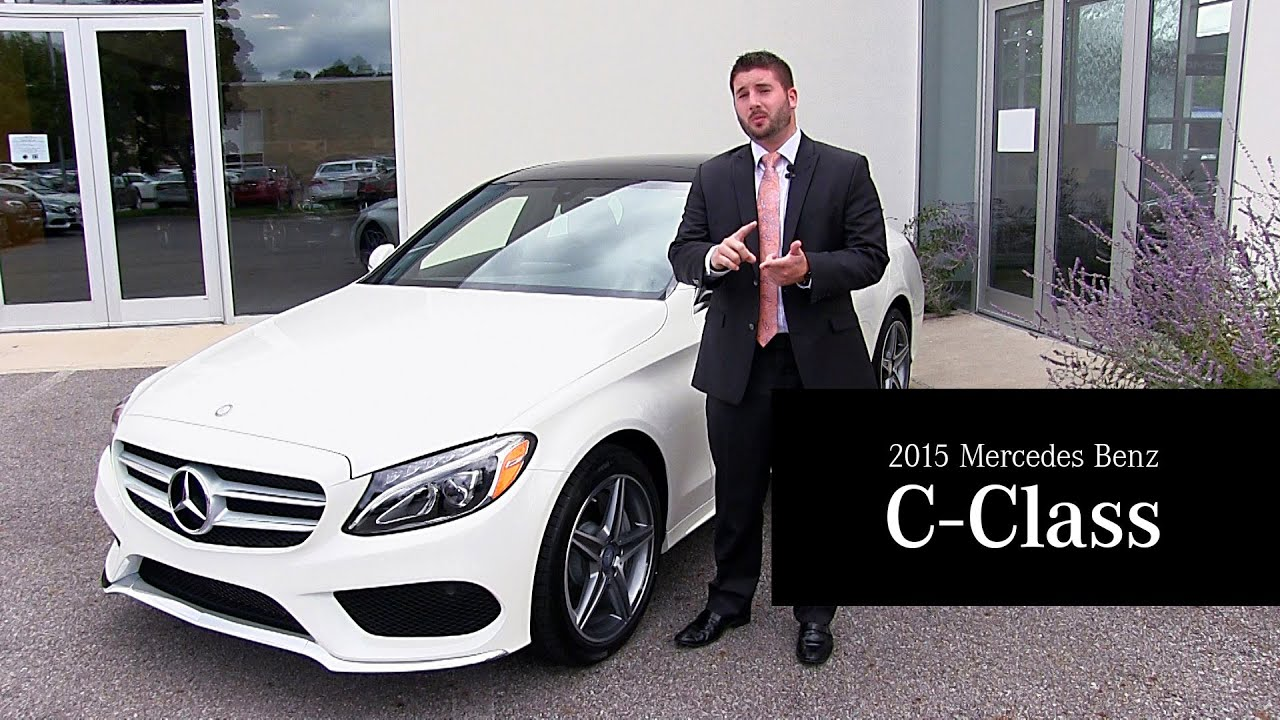 The 2015 mercedes benz c class at mercedes benz of north for Mercedes benz north olmsted