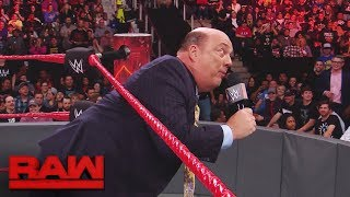 WWE fan interrupts Paul Heyman and Brock Lesnar to propose to his girlfriend: Raw, Nov. 13, 2017