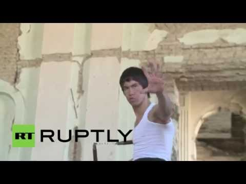 Afghanistan: Kung Fu Fighting! Meet The Afghan Bruce Lee video