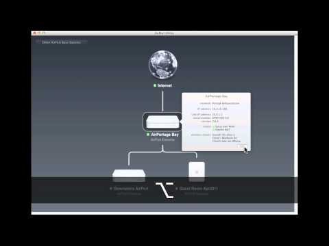 AirPort Utility 6.0 Walkthrough