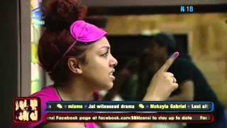 Big Brother Mzansi - Toilet drama