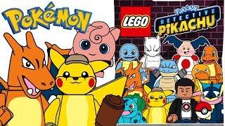 LEGO Pokémon Detective Pikachu Minifigures Series - CMF Draft!
