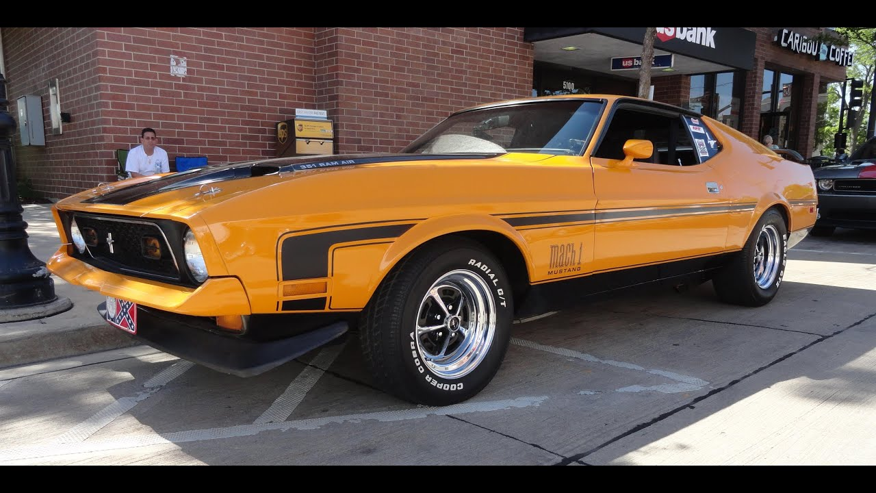 My Car Story With Lou Costabile 1972 Ford Mustang Mach 1