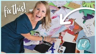Organize & manage insane amounts of artwork... on a dime!