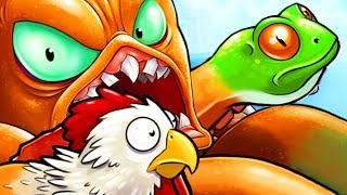 Download Lagu GIANT OCTOPUS WITH AMAZING FROG & CHICKEN TENTACLES! - Octogeddon Part 2 | Pungence Gratis STAFABAND