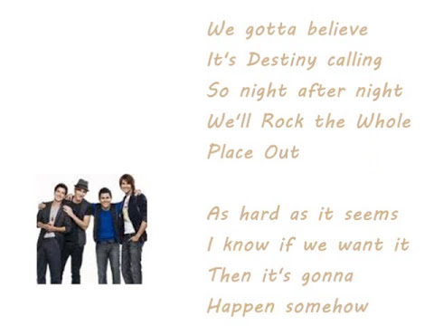 The City is ours - Big Time Rush Lyrics