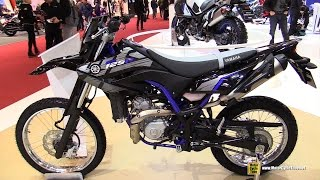 2016 Yamaha WR 125 R - Walkaround - 2015 Salon de la Moto Paris