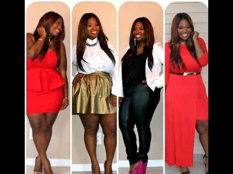 ♥ Valentines Day Outfit Ideas 2013 | Plus Size Edition ♥