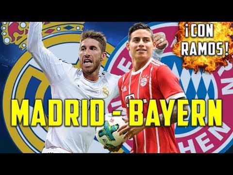 REAL MADRID - BAYERN MUNICH EN SEMIFINALES | SORTEO CHAMPIONS LEAGUE | RAMOS NO SANCIONADO thumbnail
