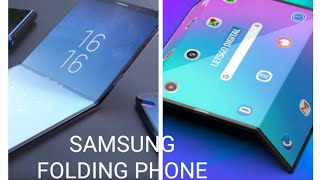 Samsung Galaxy folding  phone event 😯😯 and new upcoming 5g phone review