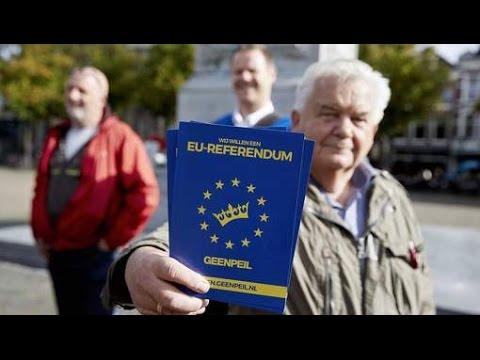Referendum: wel of geen verdrag met Oekraïne?