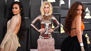 6 BEST Dressed Celebs At 2017 Grammy Awards